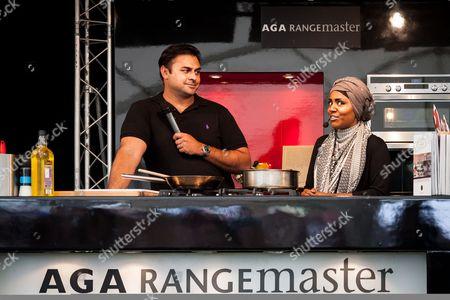 Dhruv Baker and Nadiya Hussain