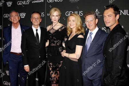 "Editorial picture of New York Premiere of Roadside Attractions' ""GENIUS"" Sponsored by Johnnie Walker, America - 05 Jun 2016"