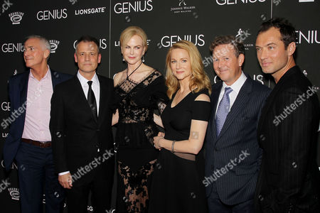 Stock Image of A. Scott Berg (Author), Michael Grandage (Director), Nicole Kidman, Laura Linney, John Logan, Jude Law