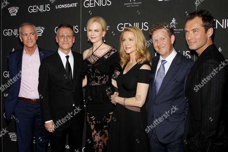Stock Photo of A. Scott Berg (Author), Michael Grandage (Director), Nicole Kidman, Laura Linney, John Logan, Jude Law