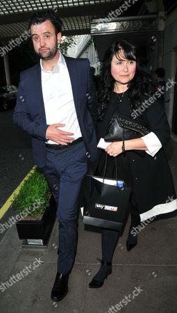 Stock Picture of Daniel Mays & Louise Burton