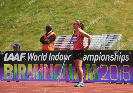Goldie SAYERS GBR  Javelin Throw Women   during IAAF Diamond League Athletics at Alexander Stadium, Birmingham, Britain,  on 5th June 2016