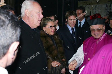 Vittorio Emanuele of Savoy and wife Marina Doria