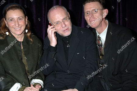 Miuccia Prada, Marco Muller and Alex Cox