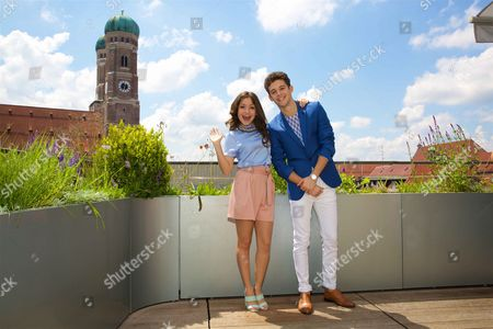 Editorial image of Disney Channel 'Soy Luna' photocall at the Hotel Bayerischer Hof, Munich, Germany - 06 Jun 2016