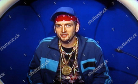 Maggot in the diary room talking about the row between George Galloway and Michael Barrymore