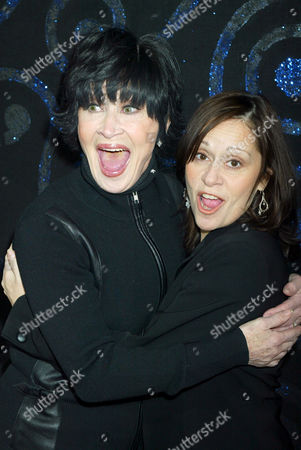 Chita Rivera and her daughter Lisa Mordente