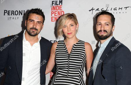 Stock Photo of Daniel Posada, Samantha Castellano, Jason Tamasco