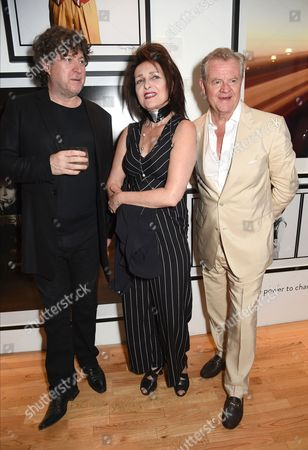 Denis O'Regan, Siouxsie Sioux and Tony McGee