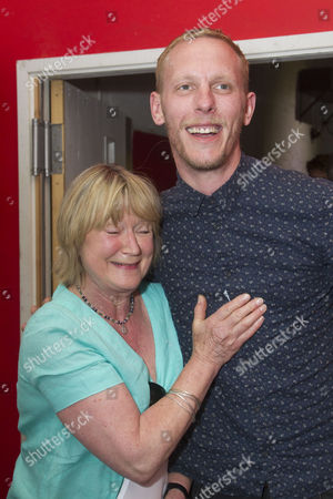 Stock Image of Joanna David and Laurence Fox