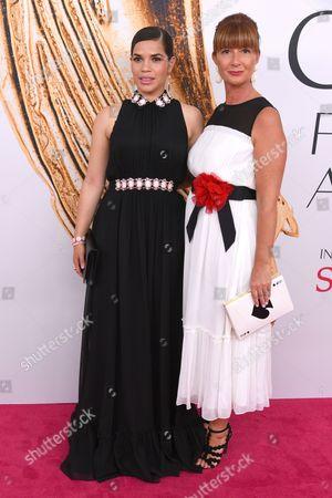 America Ferrera and Deborah Lloyd