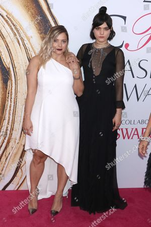 Editorial picture of CFDA Fashion Awards, Arrivals, New York, America - 06 Jun 2016
