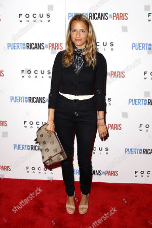 Editorial picture of New York Special Red Carpet Screening of Focus World's 'Puerto Ricans in Paris', New York, America - 06 Jun 2016