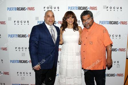 Eddie Garcia, Rosie Perez, Luis Guzman
