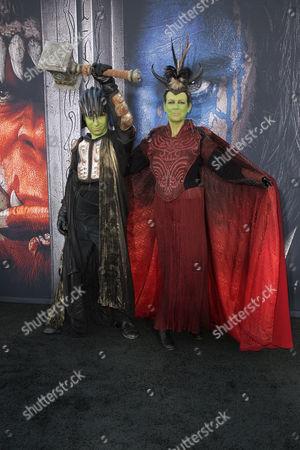 Editorial image of 'Warcraft' film premiere, Los Angeles, America - 06 Jun 2016