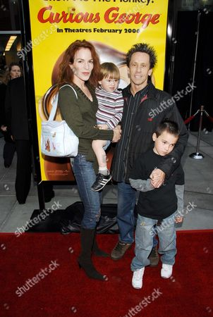 Gigi Levangie and Brian Grazer and Family