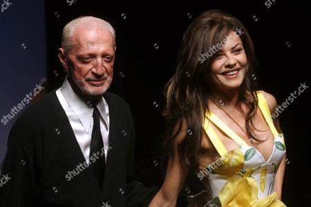 Lorenzo Riva and Eva Grimaldi
