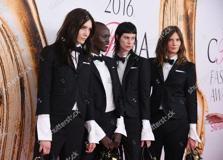Editorial image of 2016 CFDA Fashion Awards, Arrivals, New York, America - 06 Jun 2016