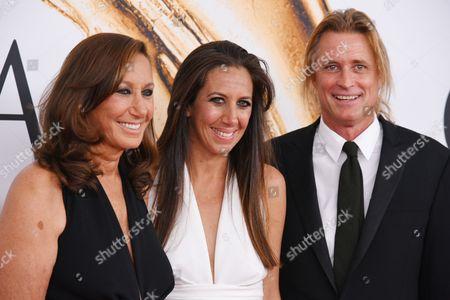 Donna Karan, Gabby Karan De Felice and guest