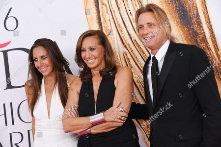 Gabby Karan De Felice, Donna Karan and guest