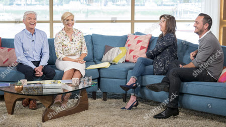 Phillip Schofield, Holly Willoughby, Jill Halfpenny and Will Mellor