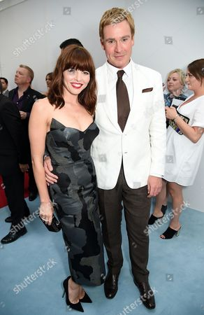 Stock Picture of Ophelia Lovibond and William Banks-Blaney
