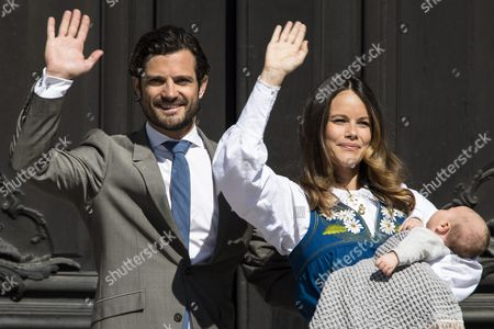 Prince Carl Philip, Princess Sofia, Crown Prince Alexander