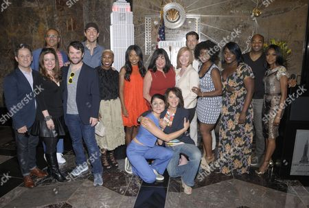 2016 Tony Award Nominees - Jennifer Simard, Cynthia Erivo, Danielle Brooks, Saycon Sengbloh, Cynthia Erivo, Adrienne Warren, Phillipa Soo