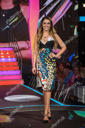 Georgina Leigh Cantwell arrives at the SIXTEEN Big Brother series Launch.