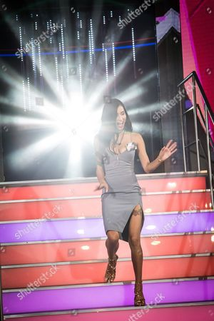 Evelyn Ellis arrives at the 2016 Big Brother series Launch