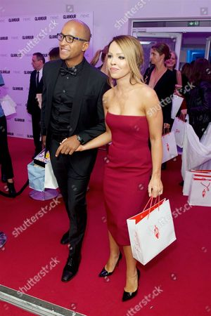 Richard James Sutton and Katie Piper