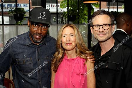 Maurice Marable, Rachael Horvitz, Christian Slater
