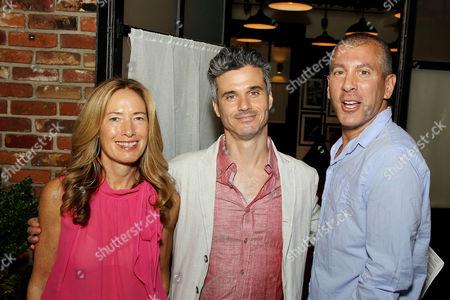 Stock Photo of Rachael Horvitz, Evan Shapiro, Eric Price