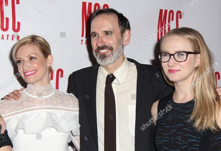 Beth Behrs, Erik Lochtefeld, Halley Feiffer