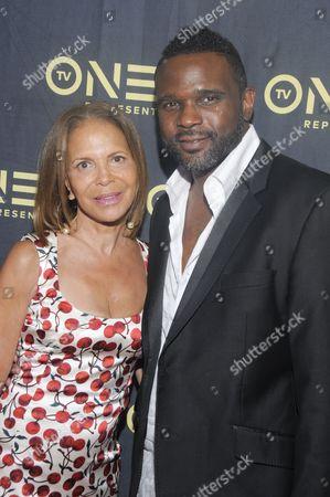 Sylvia Rhone and Darius McCrary