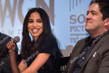 Stock Picture of Jurnee Smollett-Bell and Joe Pokaski