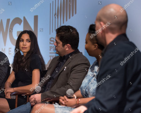 Jurnee Smollett-Bell, Joe Pokaski, Misha Green and Dominic Patten