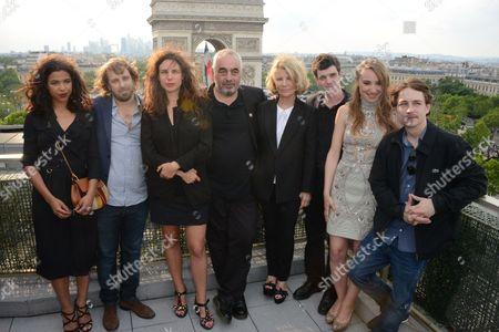 Zita Hanrot, Alexandre Aja, Sophie Letourneur, Philippe Jaenada, Nicole Garcia, Felix Moati, Deborah Francois and Vincent Rottiers