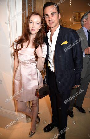 Olivia Grant and Henry Lloyd-Hughes