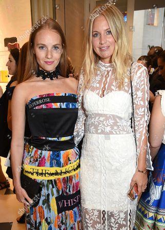 Petra Palumbo and Marissa Montgomery