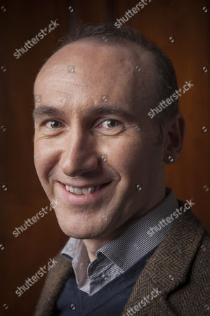 Stock Picture of The author Stephen Kelman photographed at The Cinammon Club in London