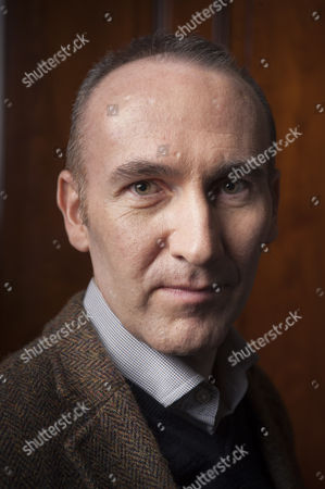 The author Stephen Kelman photographed at The Cinammon Club in London
