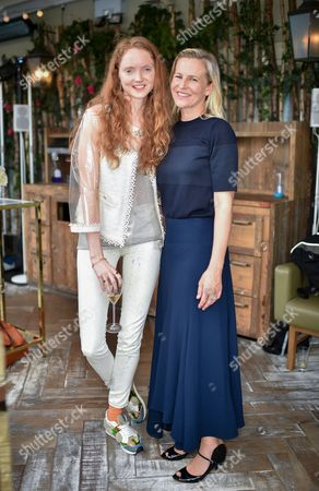 Lily Cole and Alannah Weston