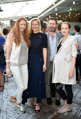 Stock Picture of Lily Cole, Alannah Weston, Mat Collishaw and Polly Morgan