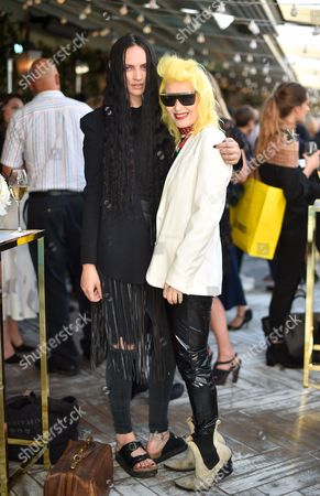 Stock Image of Lucy Newman and Pam Hogg