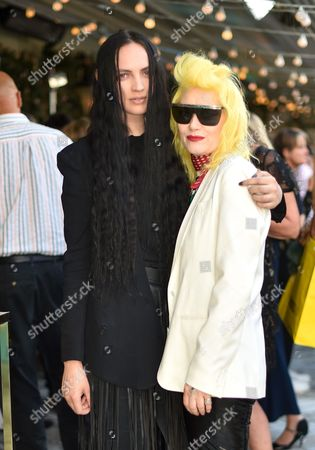 Stock Picture of Lucy Newman and Pam Hogg