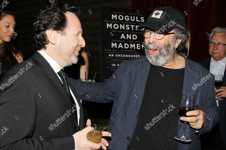 Editorial picture of Book launch for Barry Avrich new book 'Moguls, Monsters and Madmen: An Uncensored Life in Show Business', New York, America - 08 Jun 2016