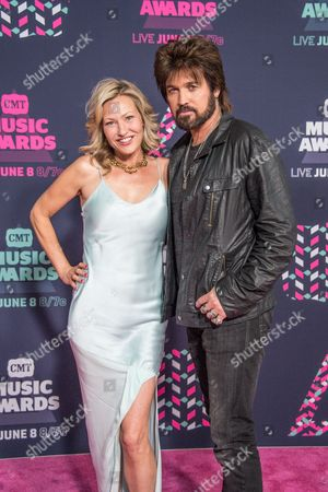 Billy Ray Cyrus and Joey Lauren Adams