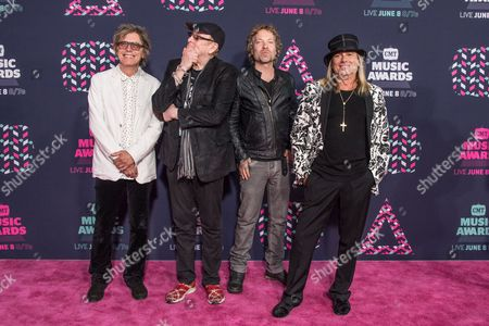 Cheap Trick - Tom Petersson, Rick Nielsen, Daxx Nielsen, and Robin Zander