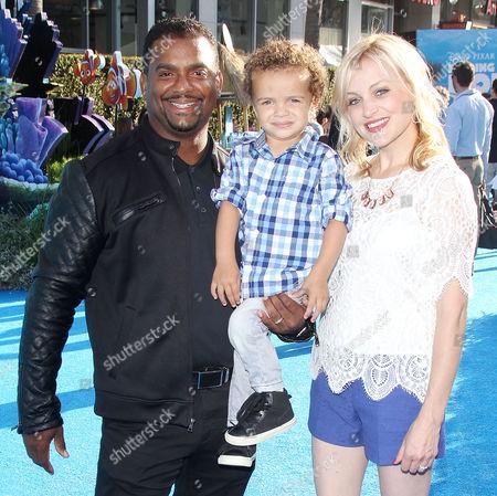 Alfonso Ribeiro, Alfonso Ribeiro Jr., Angela Unkrich
